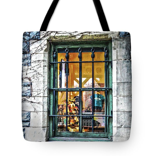 Gift Shop Window Tote Bag
