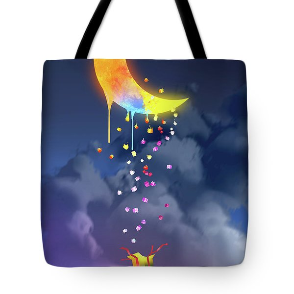 Gifts From The Moon Tote Bag