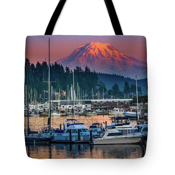Gig Harbor Dusk Tote Bag