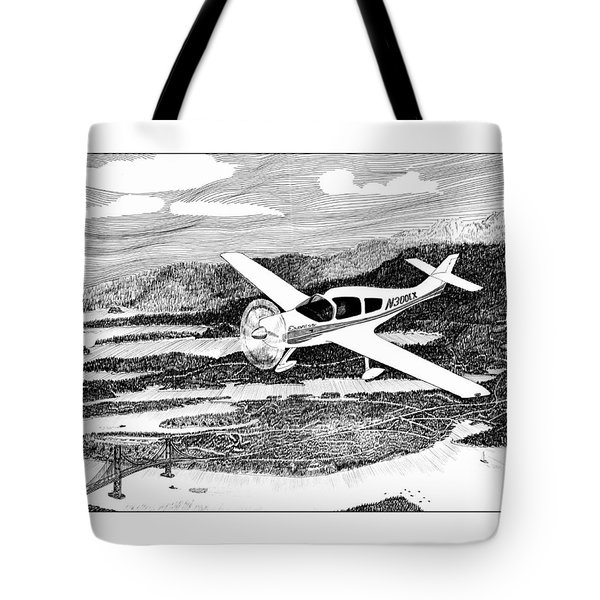 Gig Harbor Flyover Tote Bag by Jack Pumphrey