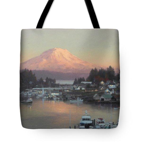 Gig Harbor Sunset Tote Bag