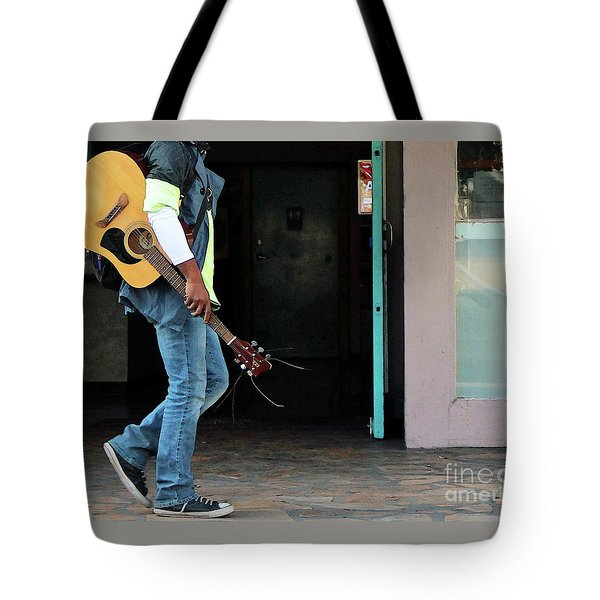 Tote Bag featuring the photograph Gig Less by Joe Jake Pratt