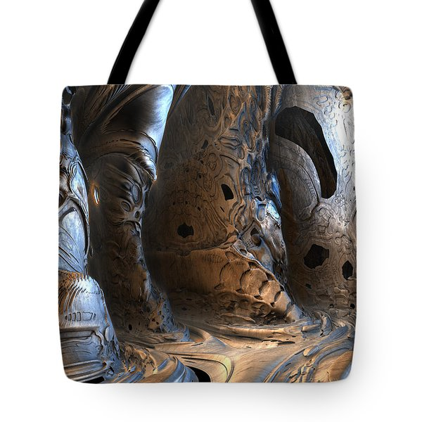 Gigeresque Natural Cave Tote Bag