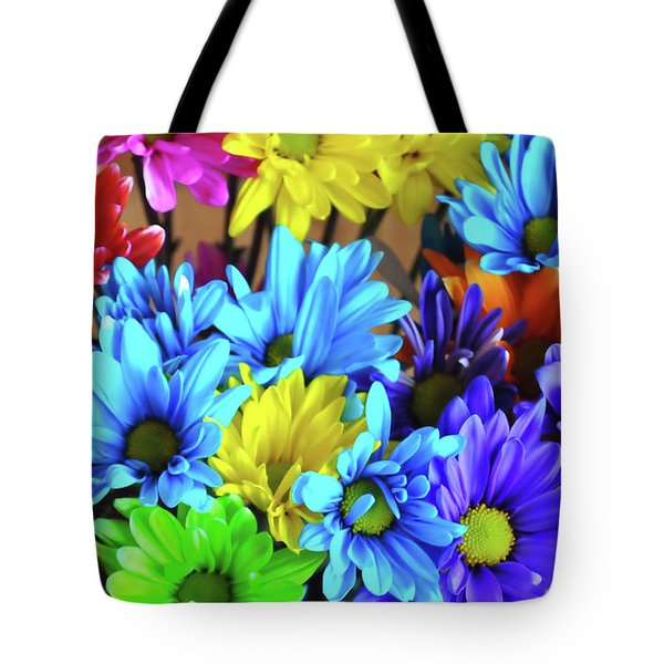 Giggle Patch Tote Bag by JAMART Photography