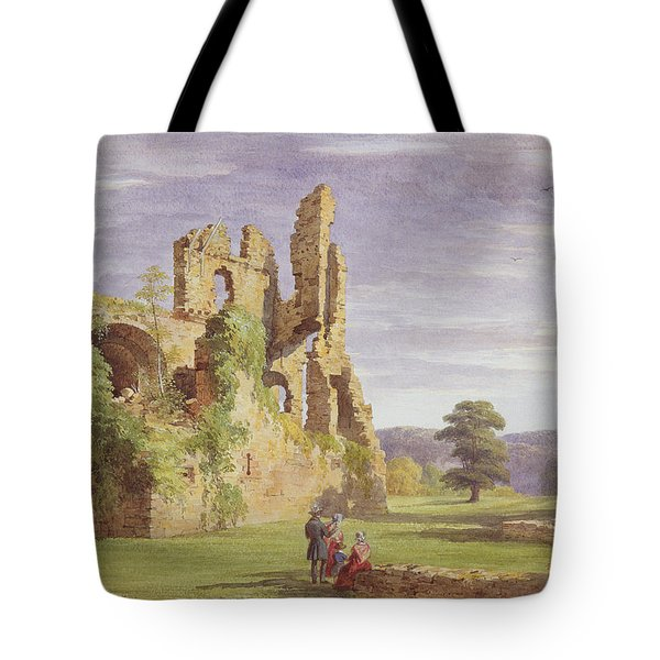 Gight Castle, 1851 Tote Bag