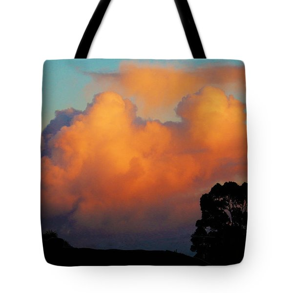Gilded Dawn Tote Bag by Mark Blauhoefer