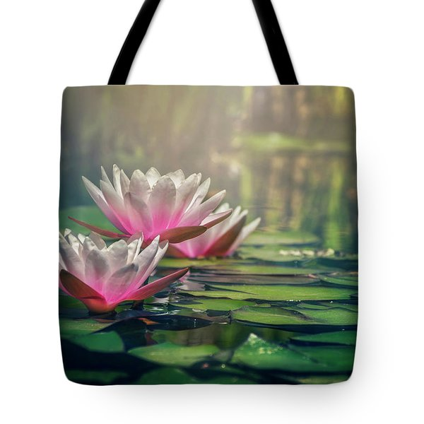 Gilding The Lily Tote Bag by Carol Japp