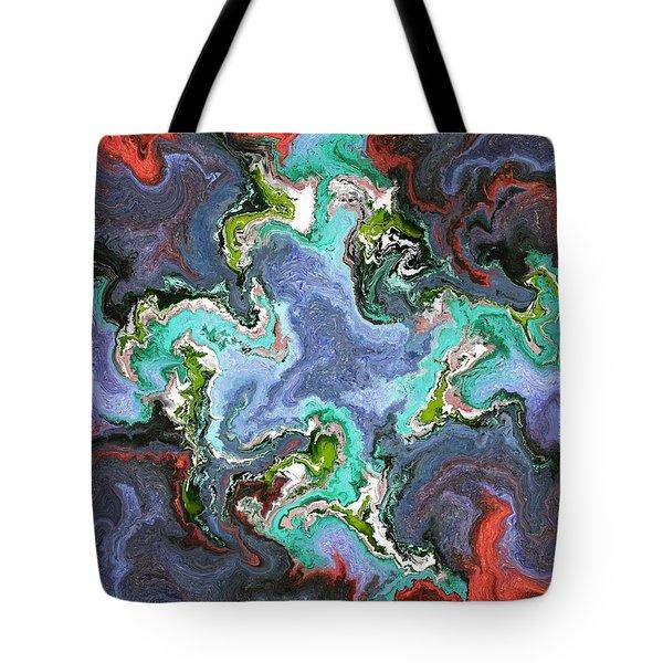 Gilemius V1 - Digital Abstract Tote Bag