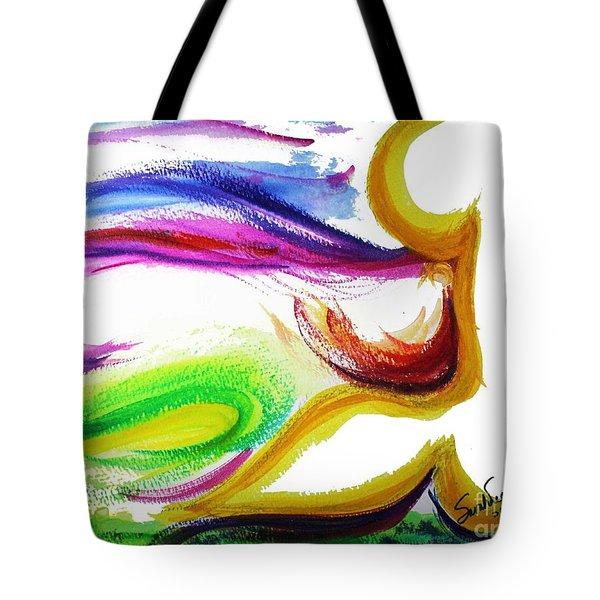 Gimel - Breathe Tote Bag