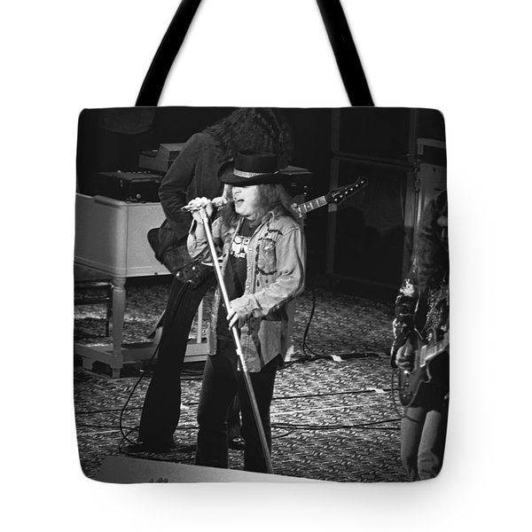 Gimme Back My Bullets Tote Bag by Ben Upham