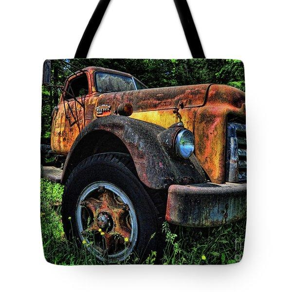 Jimmy Diesel Tote Bag