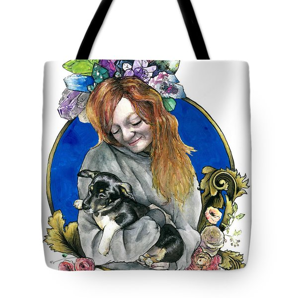 Ginger And Her Lovelies Tote Bag