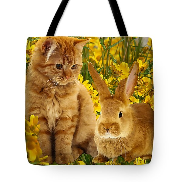 Ginger Babies Tote Bag