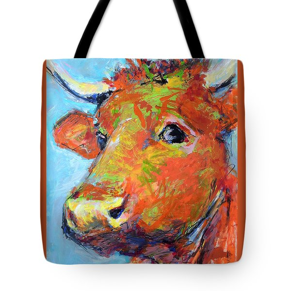 Ginger Horn Tote Bag