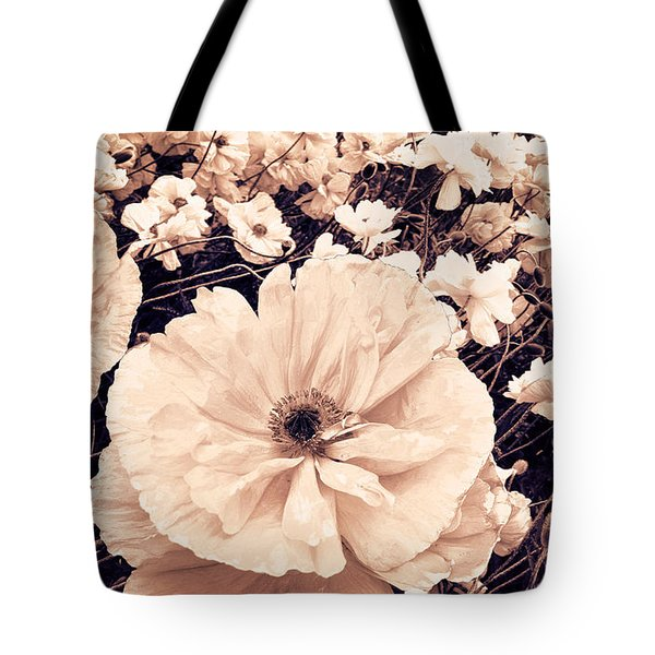Ginger Poppies Tote Bag