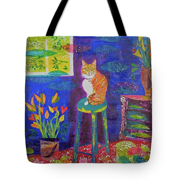 Ginger The Cat Tote Bag