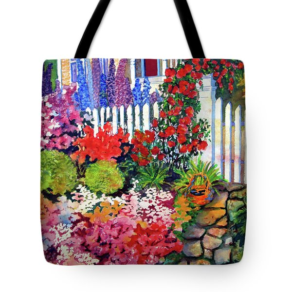 Gingerbread In Bloom Tote Bag