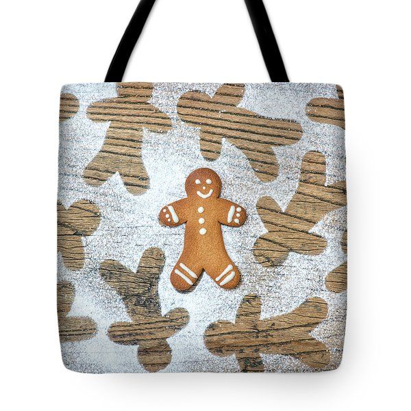 Tote Bag featuring the photograph Gingerbread by Tim Gainey