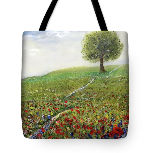 Ginger's Meadow Tote Bag