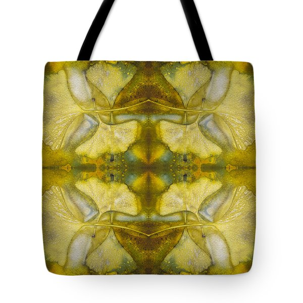 Tote Bag featuring the photograph Gingko Quad by Joye Ardyn Durham