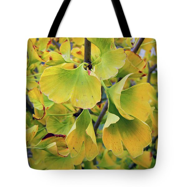 Ginkgo Gold Tote Bag