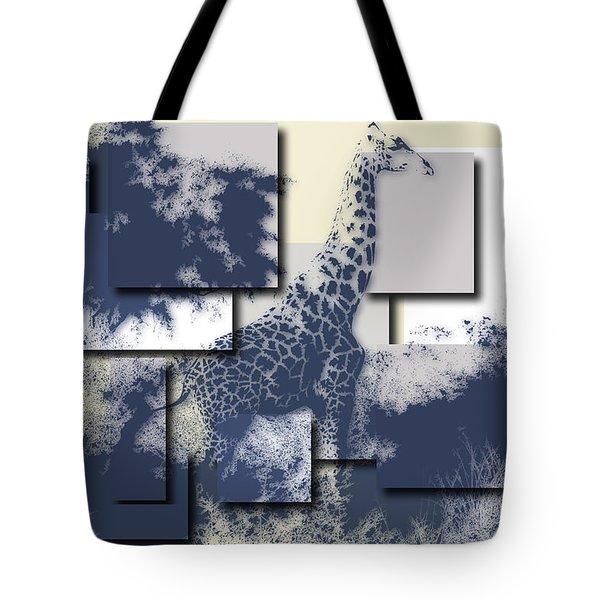 Giraffe 3 Tote Bag