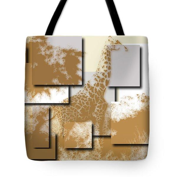 Giraffe 4 Tote Bag