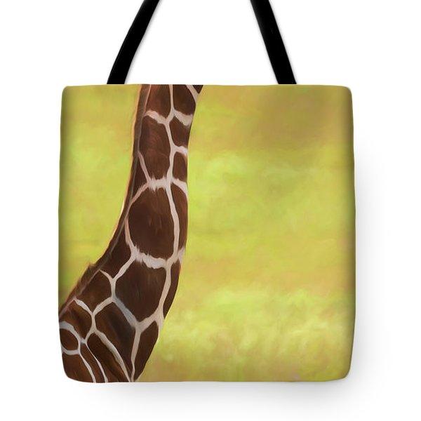 Giraffe - Backward Glance Tote Bag