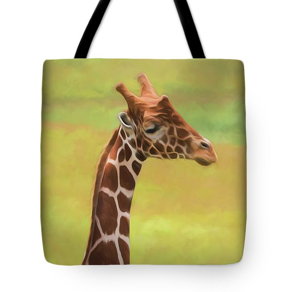 Giraffe - Backward Glance Tote Bag