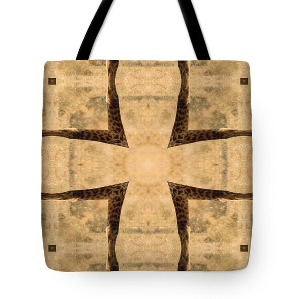 Giraffe Cross Tote Bag