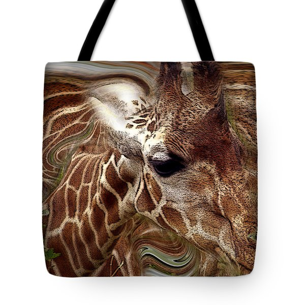 Giraffe Dreams No. 1 Tote Bag