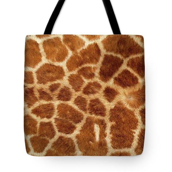 Giraffe Skin Close Up 2 Tote Bag
