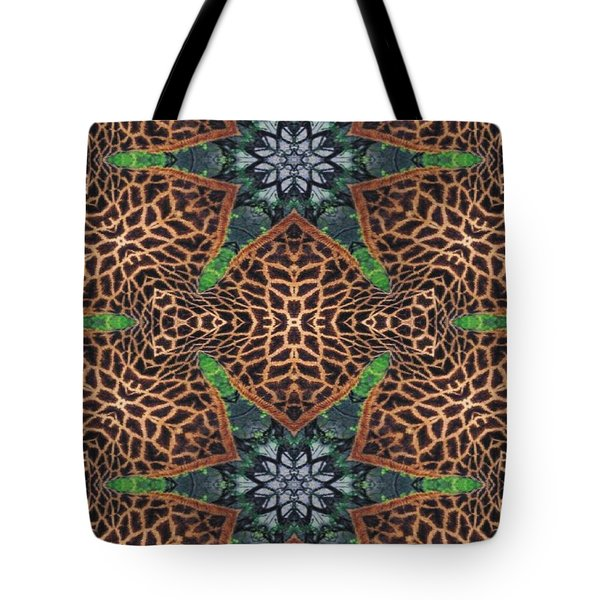 Giraffe Stars Tote Bag by Maria Watt