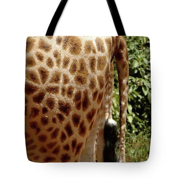 Giraffe Tails Tote Bag