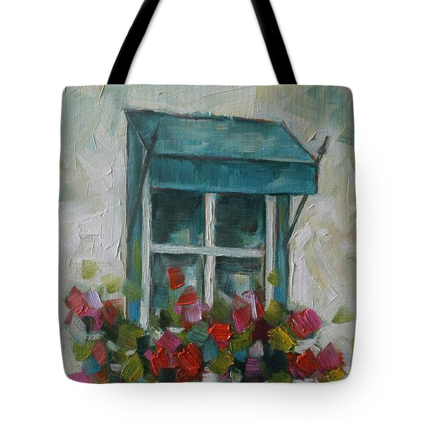Giraniums Tote Bag
