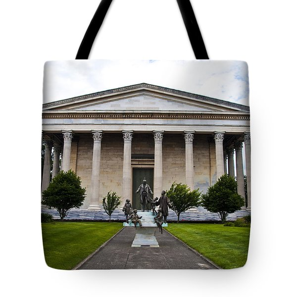 Girard College Philadelphia Tote Bag by Bill Cannon