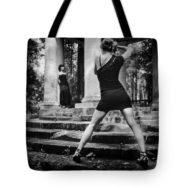 Girl #331822 Tote Bag