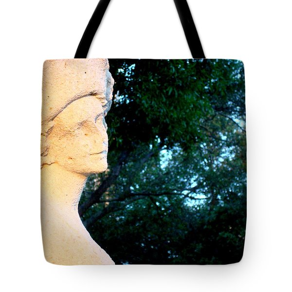 Girl Enjoys Sunrise Tote Bag