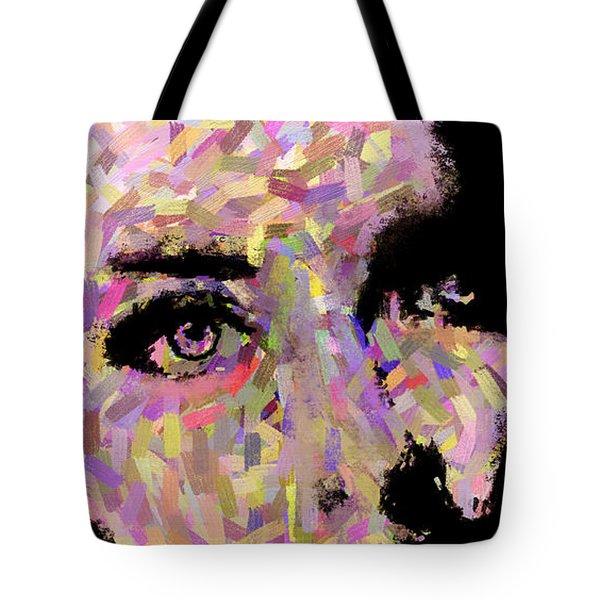 Girl Flushed Tote Bag