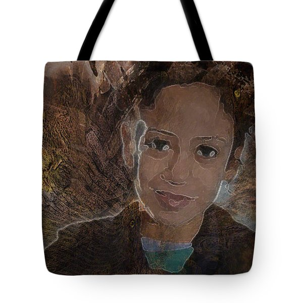 Girl From Samarra Tote Bag