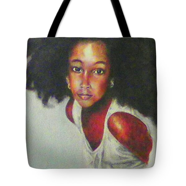 Girl From The Island Tote Bag