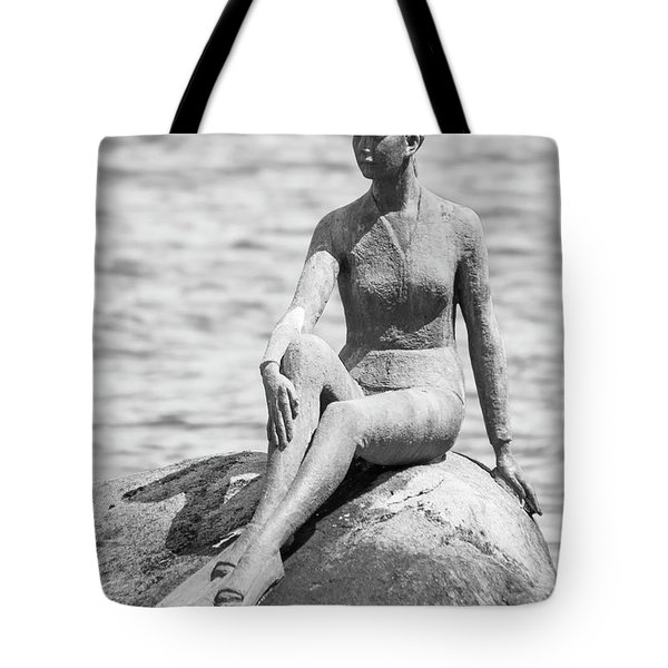 Girl In A Wetsuit Tote Bag