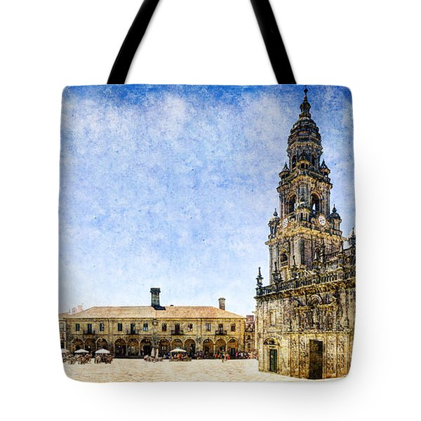 Girl In Santiago - Vintage Version Tote Bag