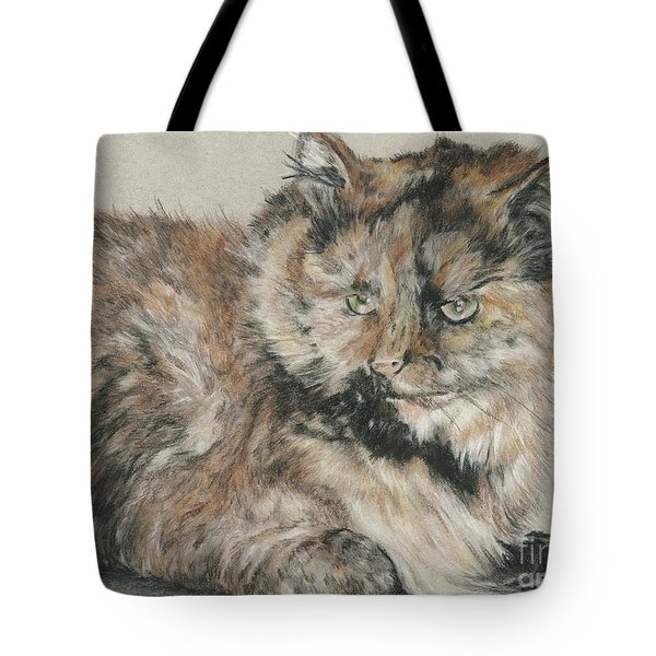 Girl  Tote Bag by Meagan  Visser