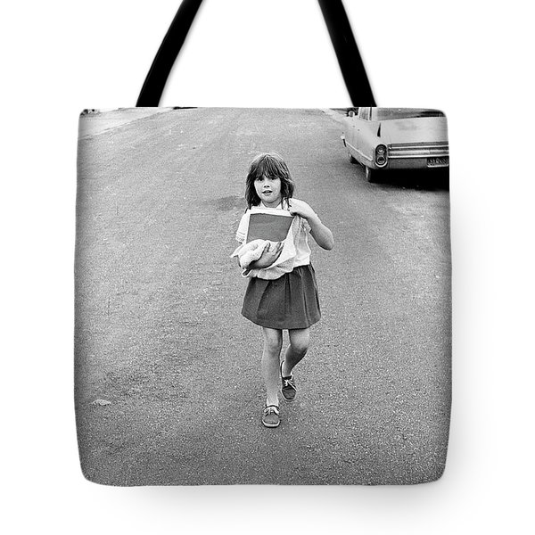 Girl On 13th Street, 1971 Tote Bag