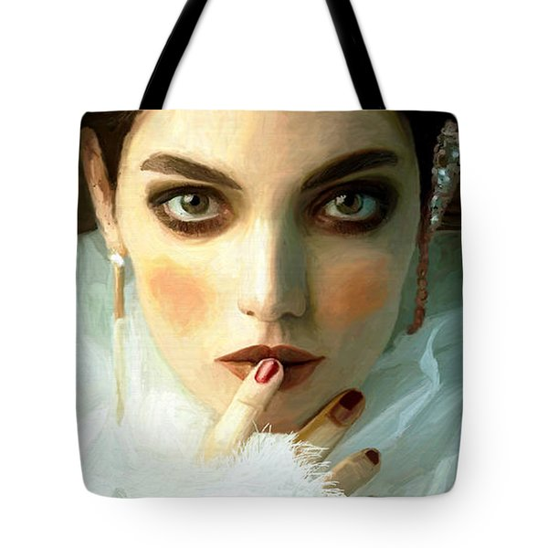 Girl Ready To Party Tote Bag
