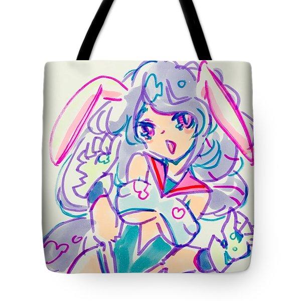 Girl02 Tote Bag