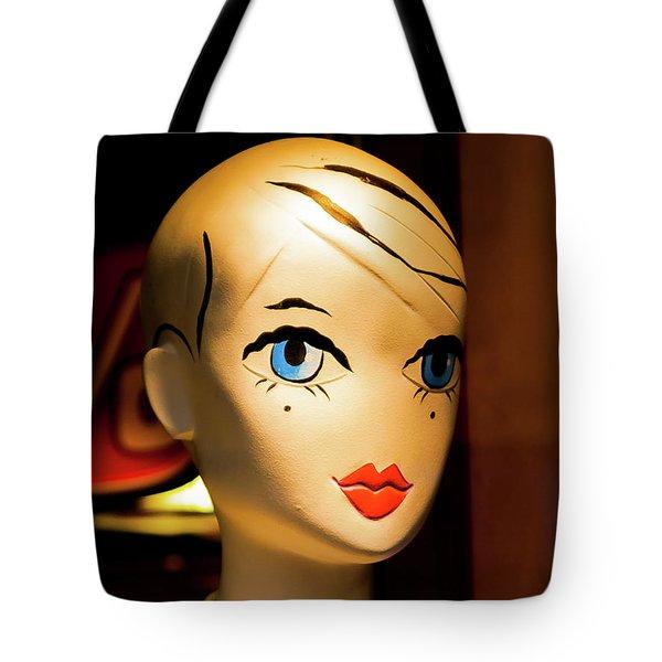 Girl_04 Tote Bag