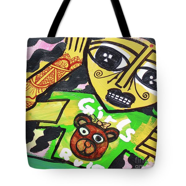 Girls Of India Tote Bag
