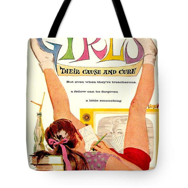 Girls, Their Cause And Cure Tote Bag
